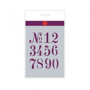 Plantilla números Transitional A5