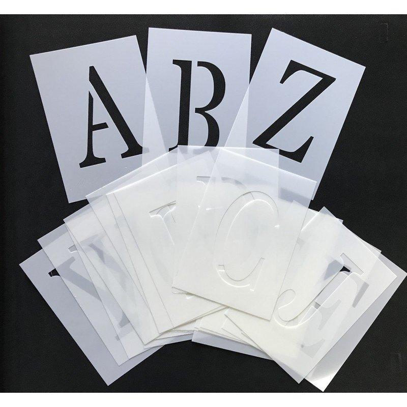 Plantilla abecedario Transitional A6