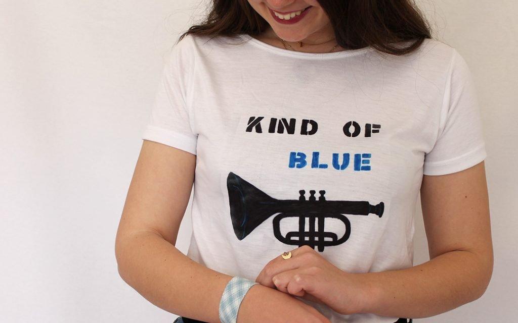 Camiseta instrumento