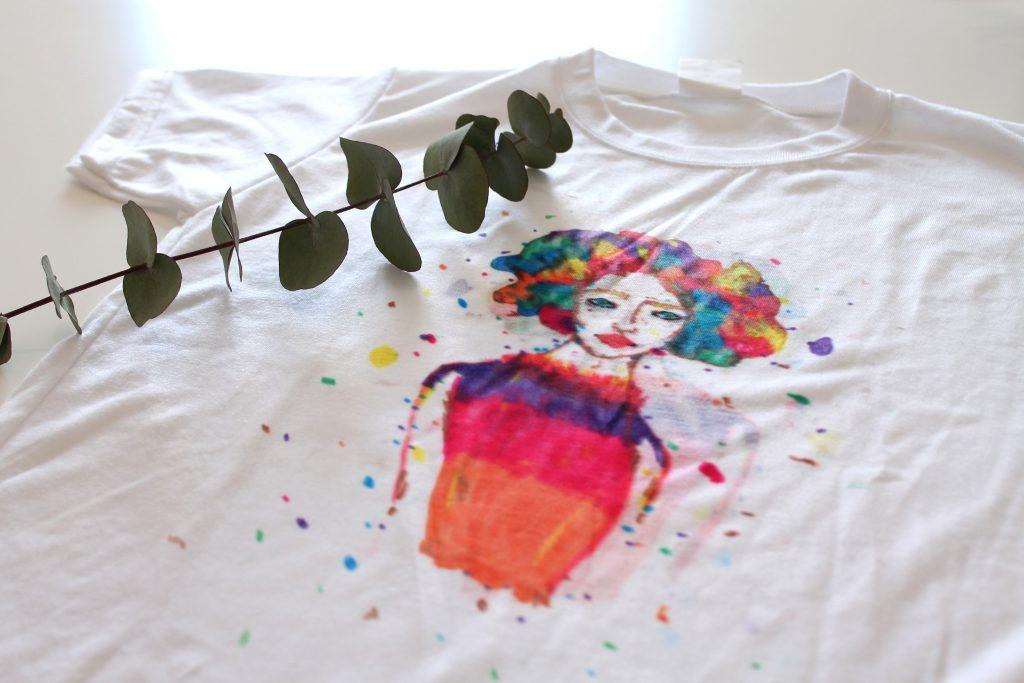 camiseta personalizada paso a paso