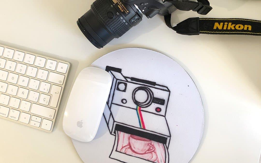Accesorios personalizados para los amantes de la fotografía