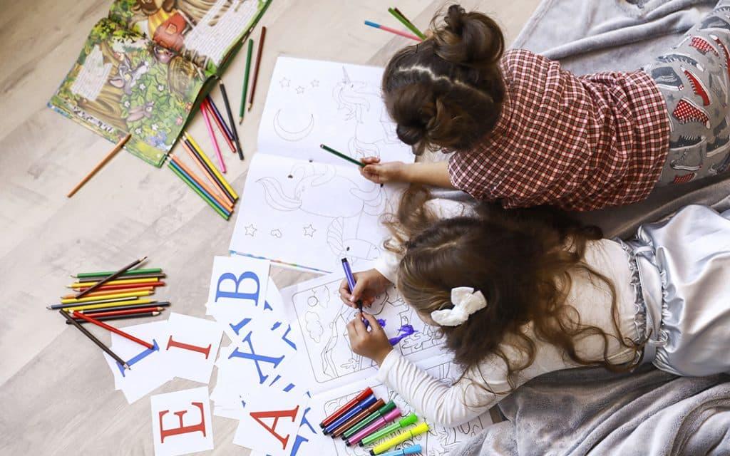 Qué actividades hacer con tus niños en el hogar