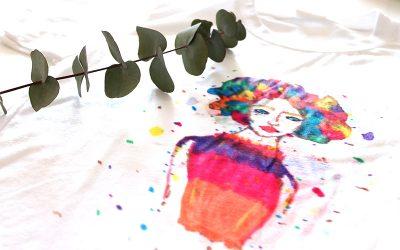 Técnicas para pintar camisetas a mano