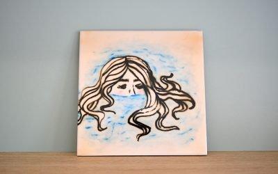 Usos decorativos de azulejos pintados a mano